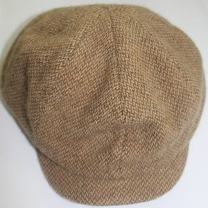 Ralph Lauren Lambs wool 8 Panel Newsboy Gatsby Hat